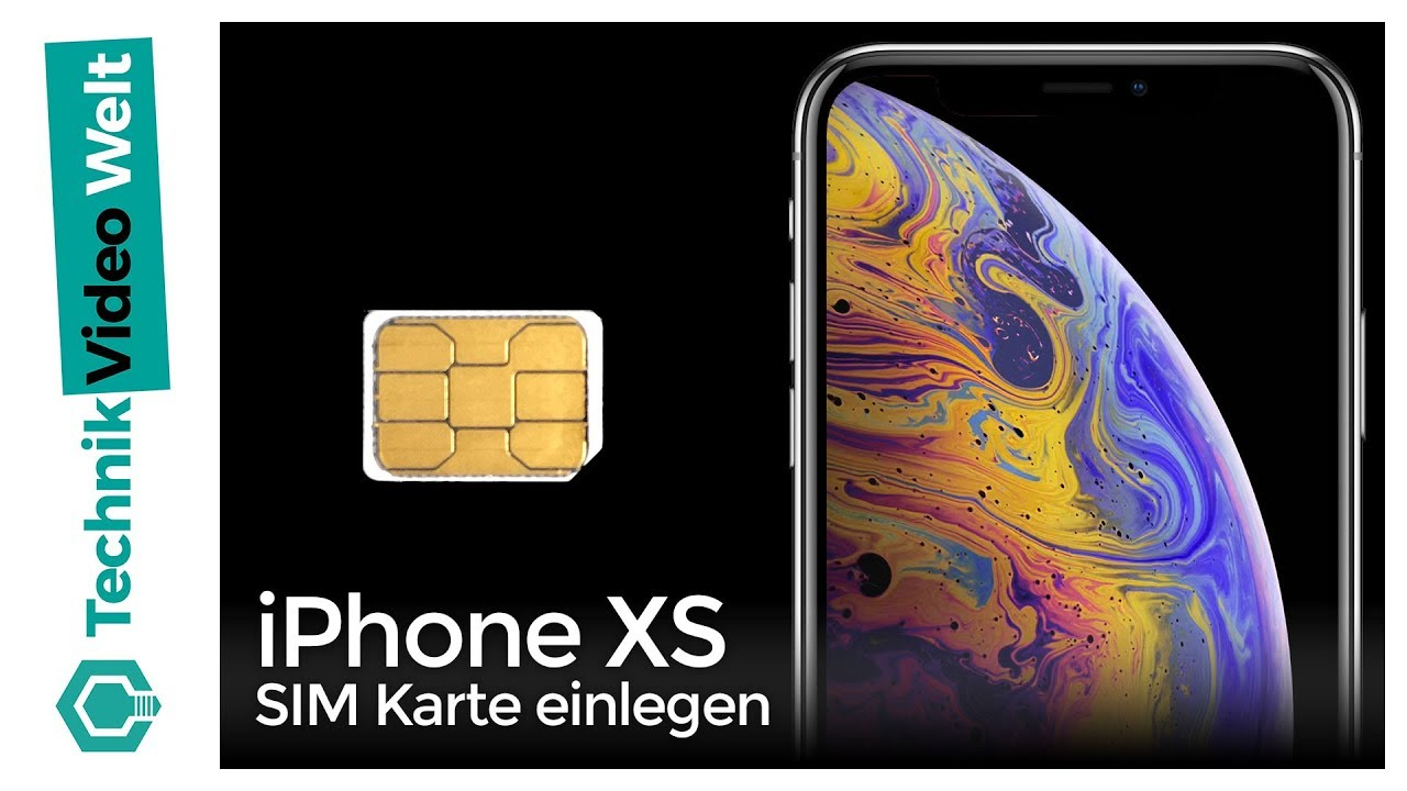 Sim Karte Einlegen Iphone X.Iphone Xs Sim Karte Einlegen
