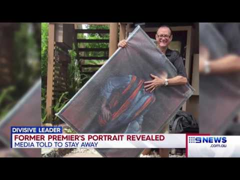 Campbell Newman's portrait to be hung in Queensland Parliament but media is not invited
