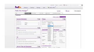 Setting up LTL freight profiles and preferences with FedEx Ship Manager at fedex.com