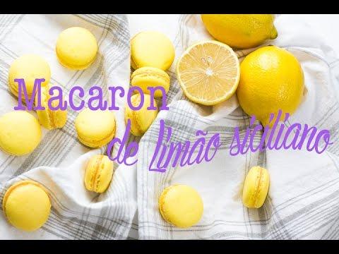 Doce francês: aprenda como fazer um delicioso Macaron de Limão Siciliano