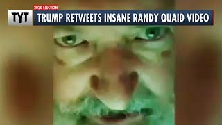 Trump Retweets INSANE Randy Quaid Video