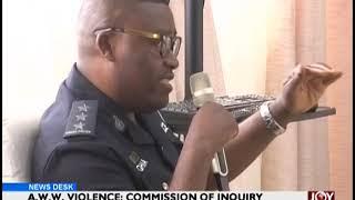 A.W.W Violence: East Legon District Police Commander Gives Testimony - JoyNews (15-2-19)
