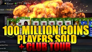 100 MILLION COINS PLAYERS SOLD + CLUB TOUR ✔ FIFA 15