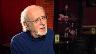Peter Yarrow talks about Peter, Paul and Mary: 50 Years in Music and Life