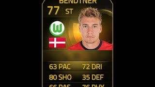 FIFA 15 IF BENDTNER 77 Player Review & In Game Stats Ultimate Team