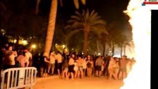 San Juan festival the must magical night in Palma de Mallorca Spain (Clevenard NoteBook+ )