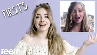 Sabrina Carpenter Shares Her Firsts | Teen Vogue