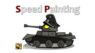 Speed Painting. Pz. RanZar. Рандомные Зарисовки.