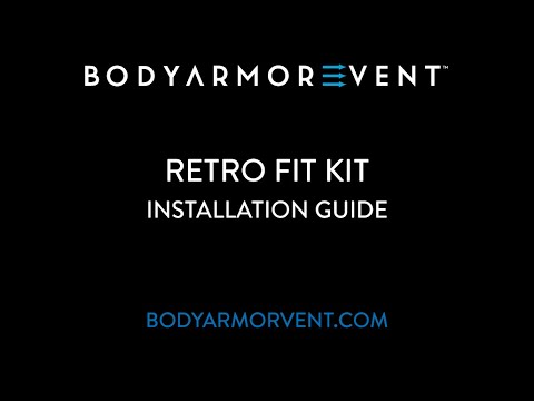 BODY ARMOR VENT Retro Fit Kit Installation Video