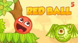 Red Ball 5 - Tingo Level 1-5 Walkthrough