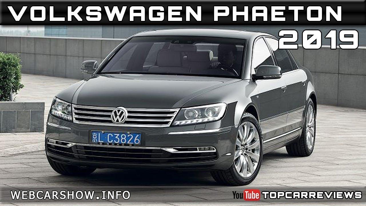 2019 Volkswagen Phaeton Review Rendered Price Specs