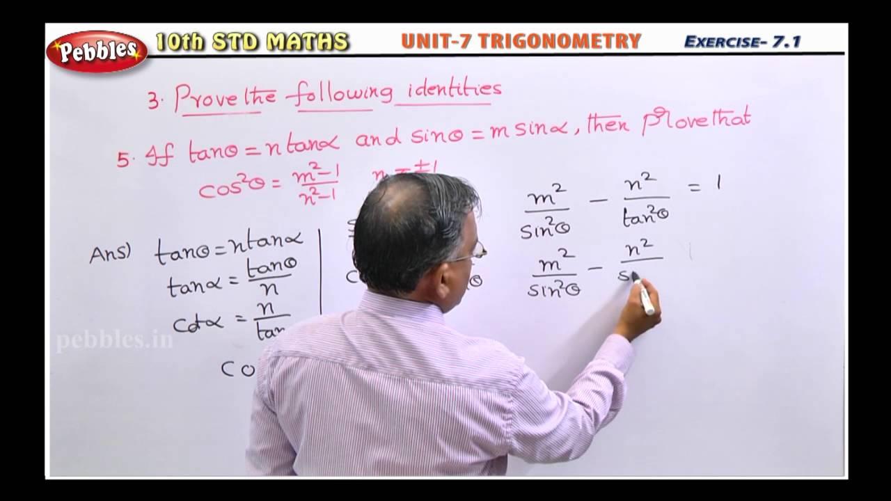 10th Samacheer Kalvi Maths Score Book