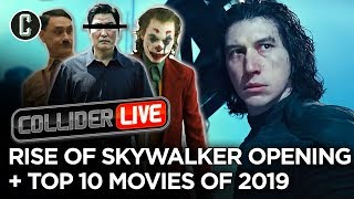 Rise of Skywalker Opens With Lowest Box Office in New Trilogy + Top 10 of 2019 - Collider Live #288