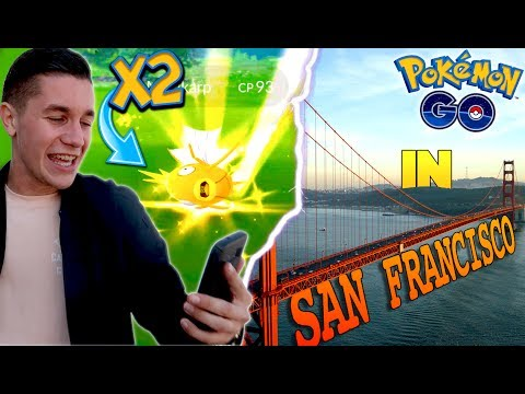 What is Pokemon Go Like in San Francisco? *TWO SHINIES CAUGHT!* (Generation 2)
