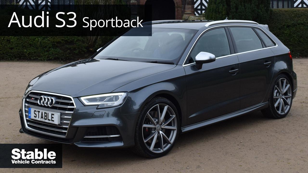 2017 Audi S3 Sportback S Tronic Walk Around Daytona Grey