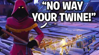 imposters are BACK and WORSE than EVER!! 🤡🤯 (Scammer Get Scammed) Fortnite Save The World
