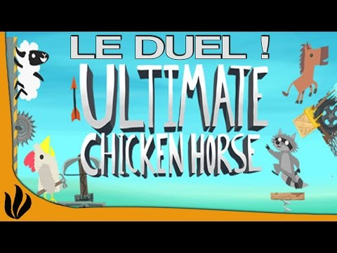 Ultimate Chicken Horse FR #2: LE DUEL !