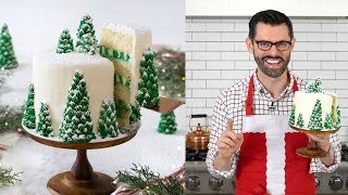 How to Make a Christmas Tree Cake