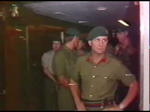 SS Canberra, the Return, July 11, 1982