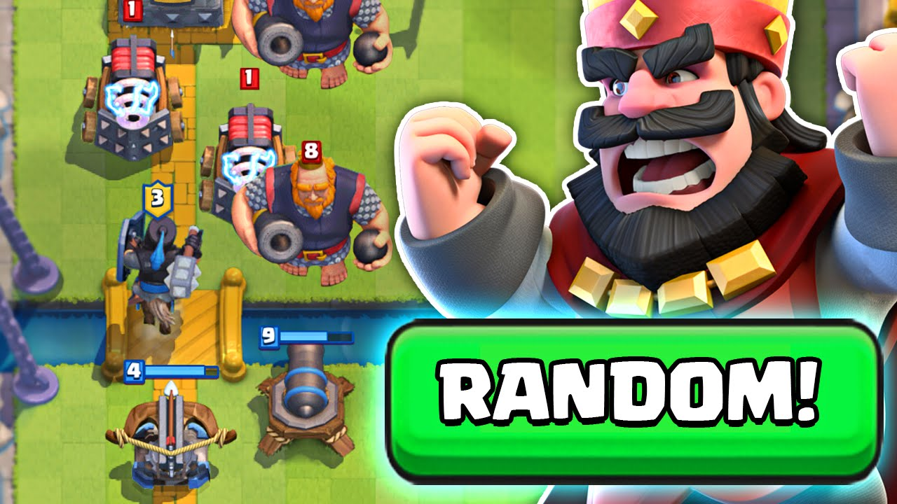 clash royale random deck