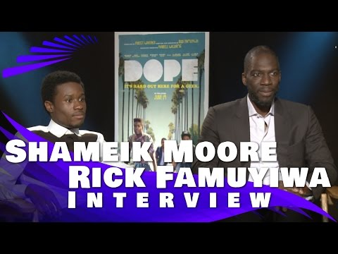 DOPE: Rick Famuyiwa And Shameik Moore Interview