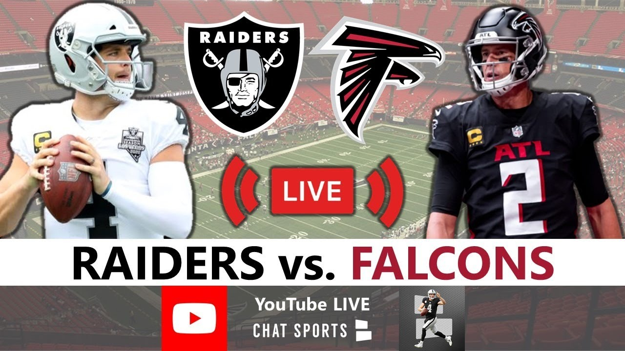 Falcons vs. Raiders: How to watch, schedule, live stream info, game ...