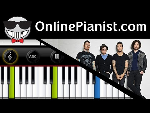Fall Out Boy - Irresistible - Piano Tutorial & Sheets (Easy Version)