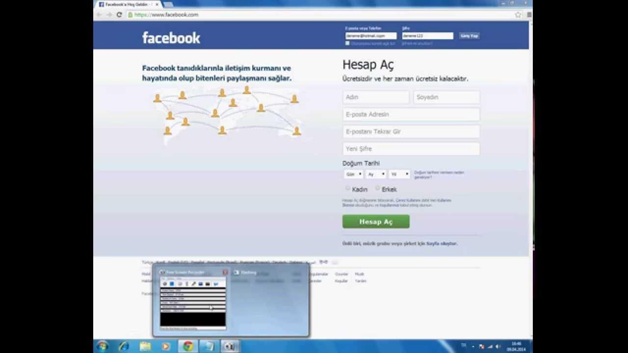 facebook şifresini öğrenmek istiyorum