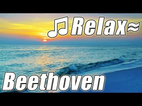 FUR ELISE  BEETHOVEN Piano CLASSICAL MUSIC for studying Relaxing HD Ocean Sounds Study Symphy