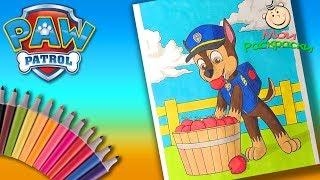 Щенячий патруль Спасает Ферму Раскраска для Детей  Раскраска для маленьких Щенок Гончик