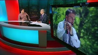 BBC Interview with Zeek Afridi - زیک افریدي سره مرکه