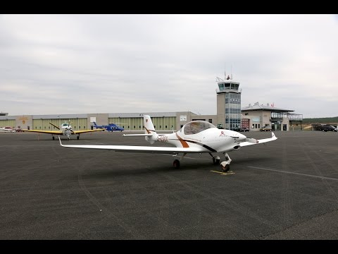 Flug nach Schönhagen (EDAZ) zur Produktionsführung bei Aquila Aviation (A211)