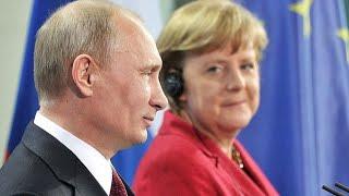 Angela Merkel tiene Claro que Prefiere el Dinero y no Atacará a Putin.