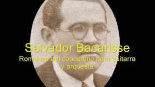 Salvador Bacarisse (1898-1963) - Romanza del concertino para guitarra y orquesta
