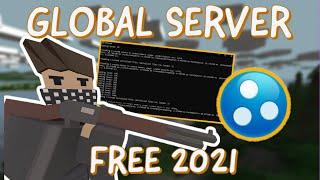 How to make a Gl๐bal Unturned server 2021 (Hamachi) (Dedicated Server App)
