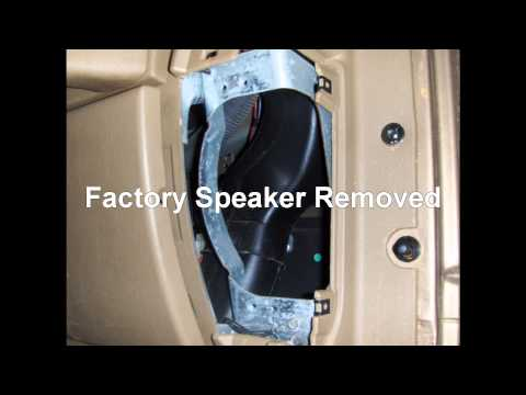 How To Install Dash Speakers In A Jeep Wrangler