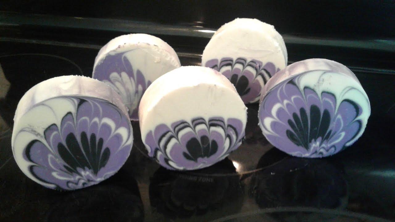purple chrysanthemum flower swirl