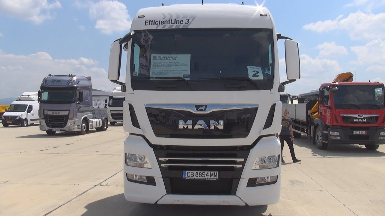 MAN TGX 18 460 4x2 BLS EL EfficientLine 3 Tractor Truck (2018) Exterior and  Interior