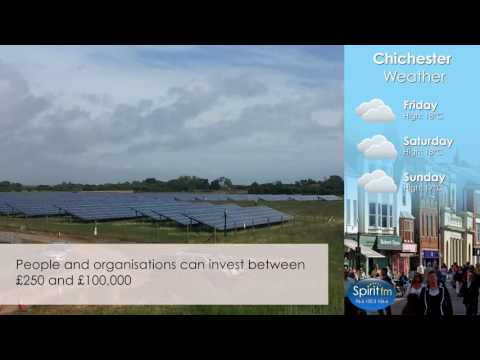 Solar Farm In West Sussex Up For Grabs - Spirit FM Video News