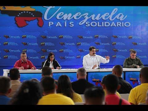 Presidente Maduro en acto con colombianas y colombianos en Venezuela, 25 septiembre 2018