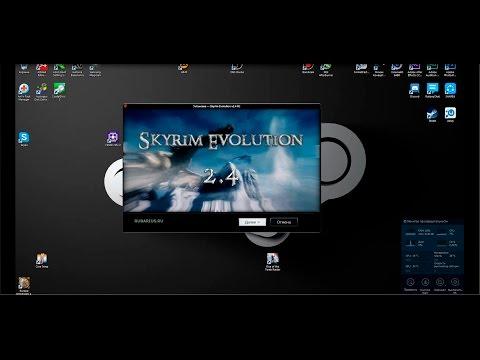 The Elder Scrolls V : Skyrim (SA-Evolution 2 4 RC) Подробная Установка #8
