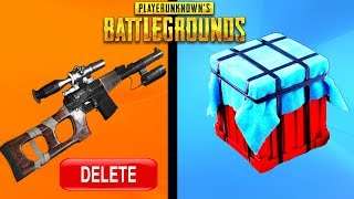 10 THINGS THAT GOT REMOVED FROM PUBG! - PlayerUnknownsBattlegrounds