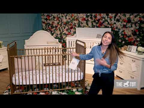 Million Dollar Baby Classic Abigail 3-in-1 Convertible Iron Crib