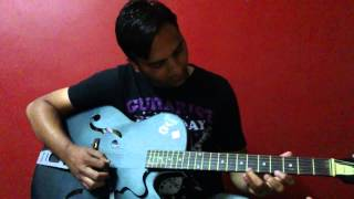 Jeena Isi Ka Naam Hai on Guitar - Instrumental
