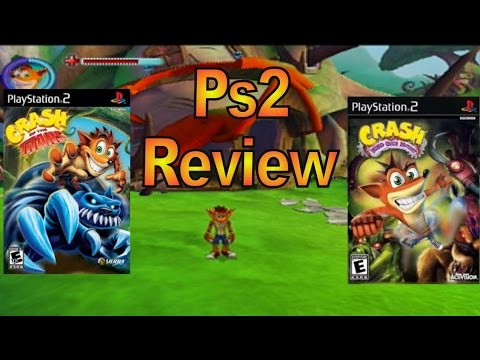 Ps2 Review Crash Of The Titans Crash Mind Over Mutant Youtube