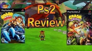 Ps2 Review: Crash of the Titans & Crash Mind Over Mutant