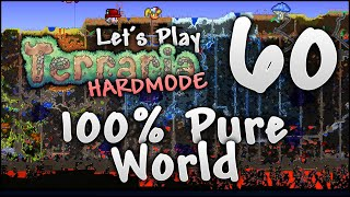 WHAT ACTUALLY HAPPENS WHEN YOU CLEANSE YOUR WHOLE TERRARIA WORLD?! | Let's Play Terraria 1.3.5