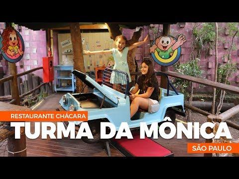 Conheça a Chácara Turma da Monica, o restaurante da turma da mônica