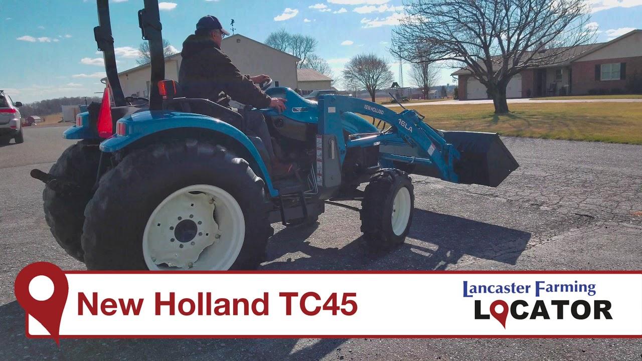 New Holland TC45 with Loader Walk Around