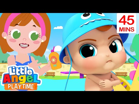 No No Swimming Song + More Little Angel Kids Songs & Nursery Rhymes